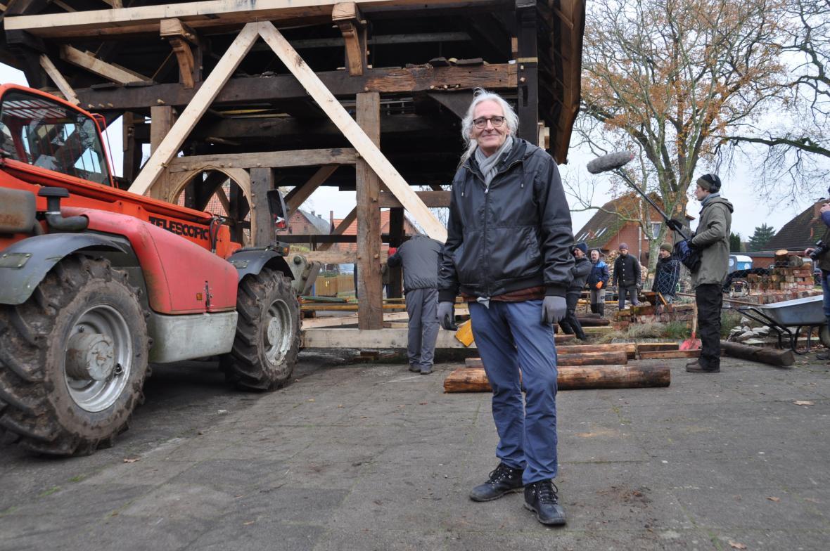 Architekt a člen zkrášlovacího spolku Martin Tolksdorf