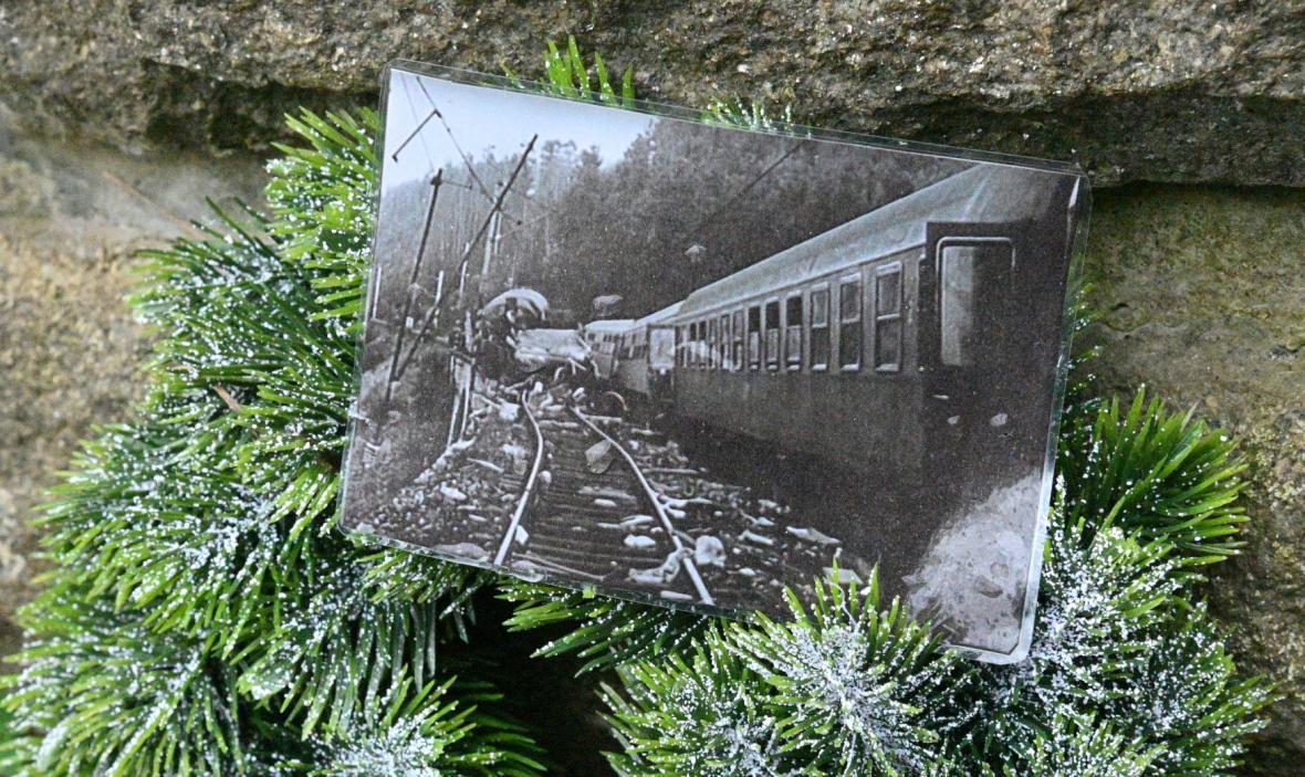 Místo železniční nehody u Řikonína dnes