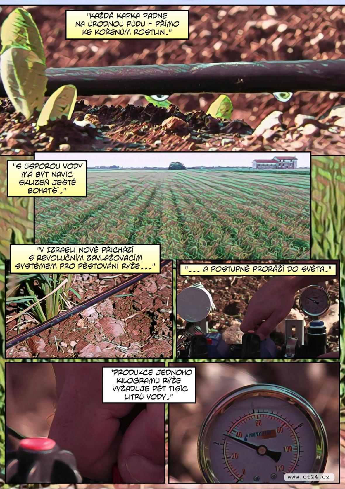V Izraeli vyvinuli speciální úsporný zavlažovací systém, který by mohl pomoci při ničivém suchu