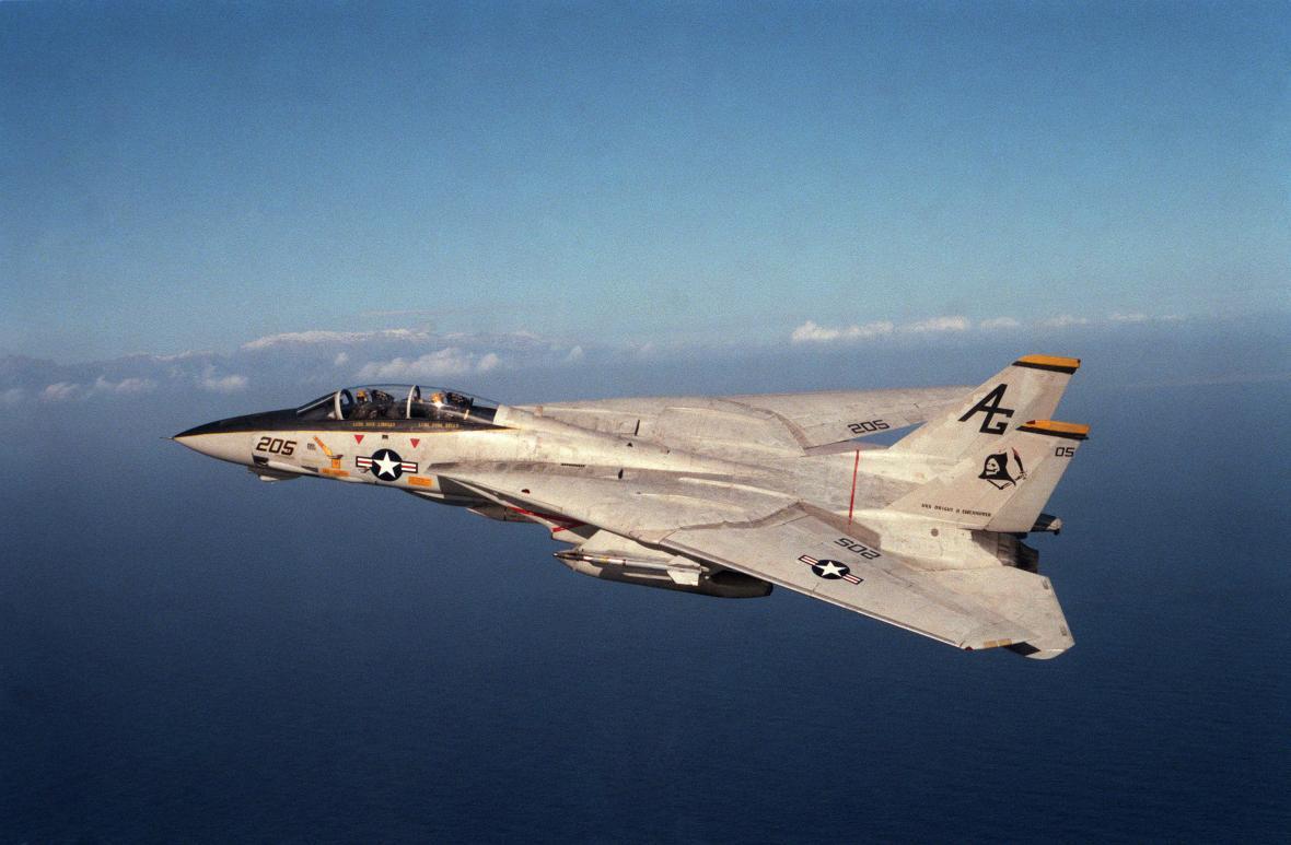 F-14 Tomcat slaví 50 let