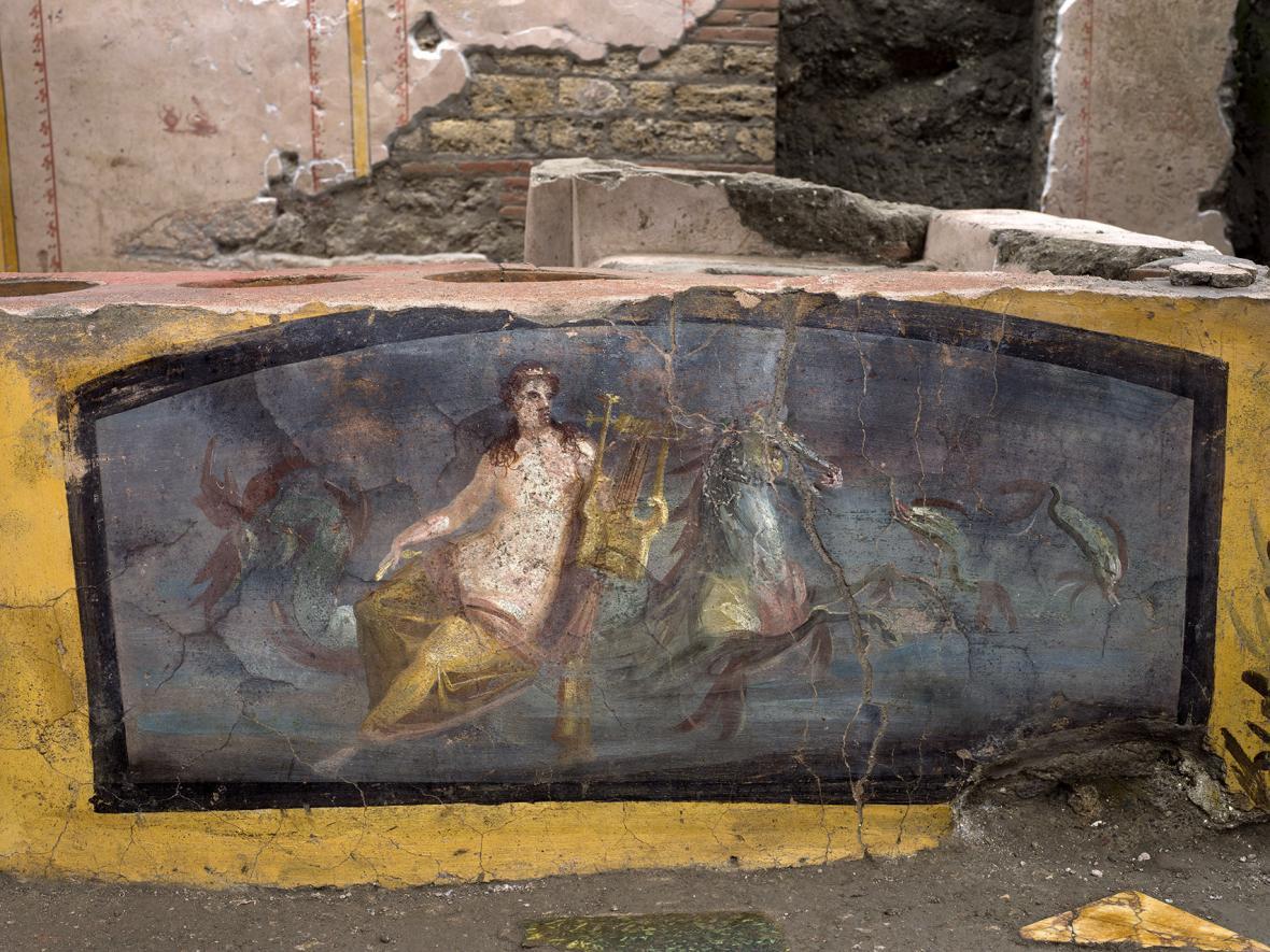 Antické rychlé občerstvení objevené v Pompejích