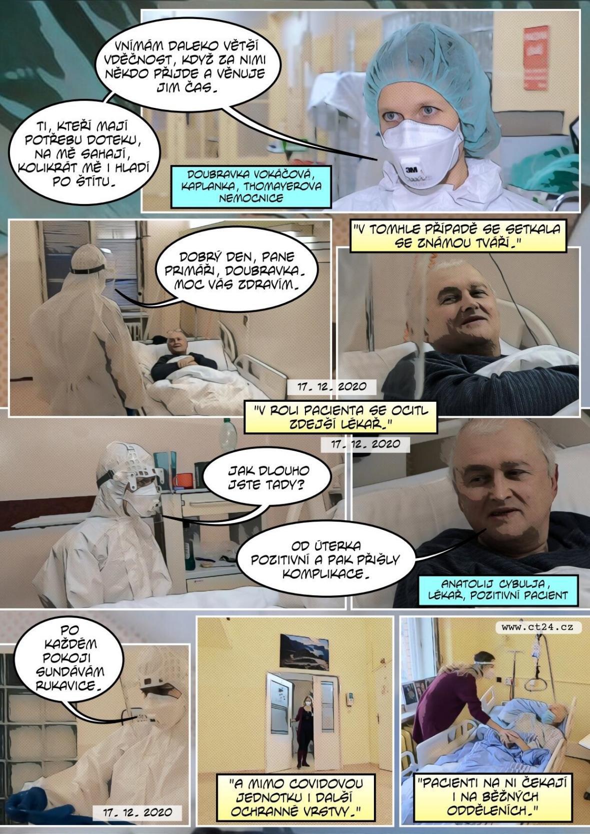 Nemocniční kaplani v nemocnicích