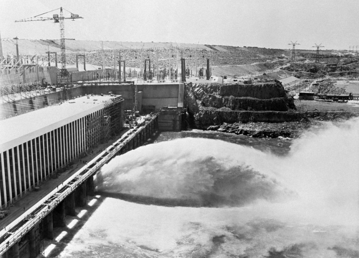 Asuánská přehrada během 80. let produkovala až 70 procent elektrické energie v zemi.