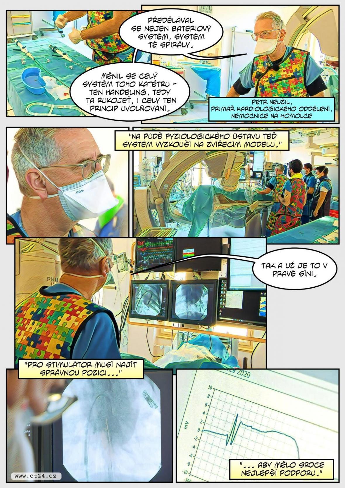 Na experimentálním pracovišti v Praze testují lékaři nové technologie