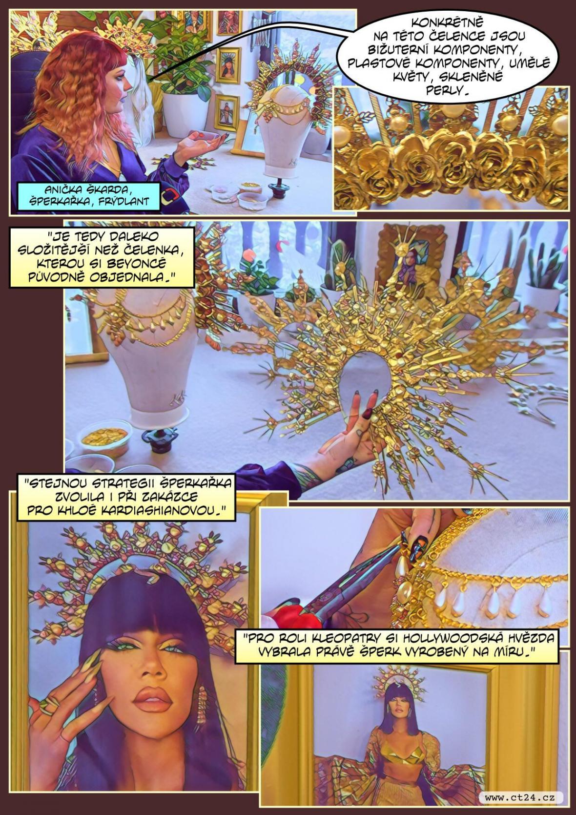 Šperky pro Beyoncé