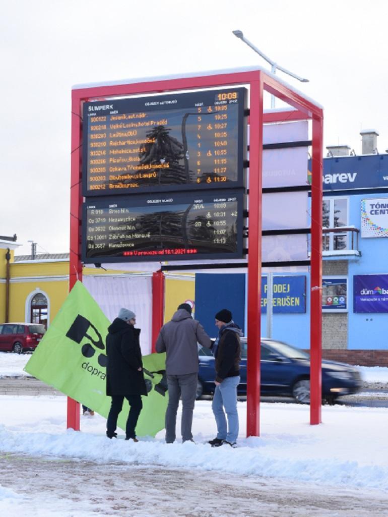 Skončila oprava autobusového nádraží v Šumperku