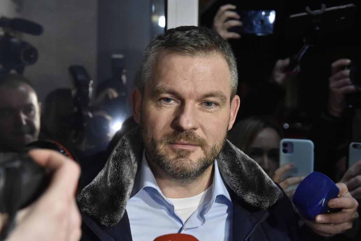 Slovenský politik Peter Pellegrini