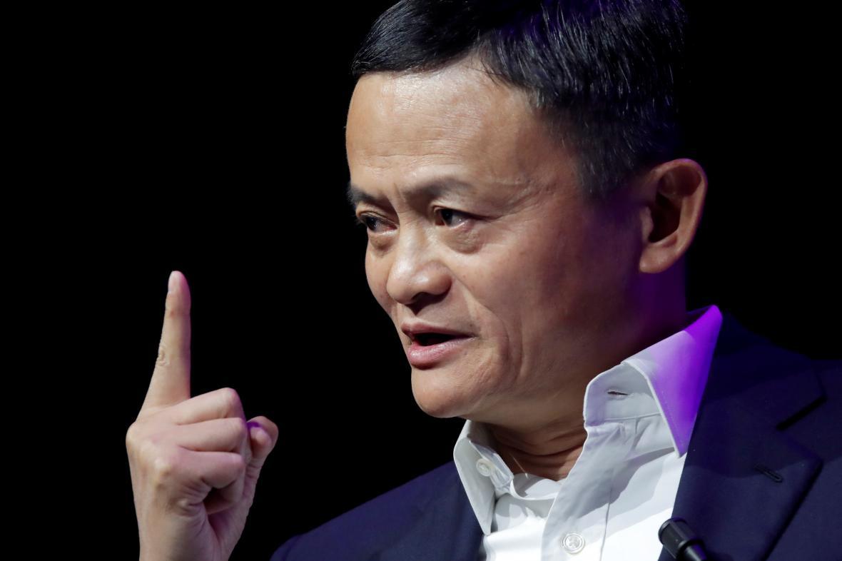 Čínský podnikatel Jack Ma