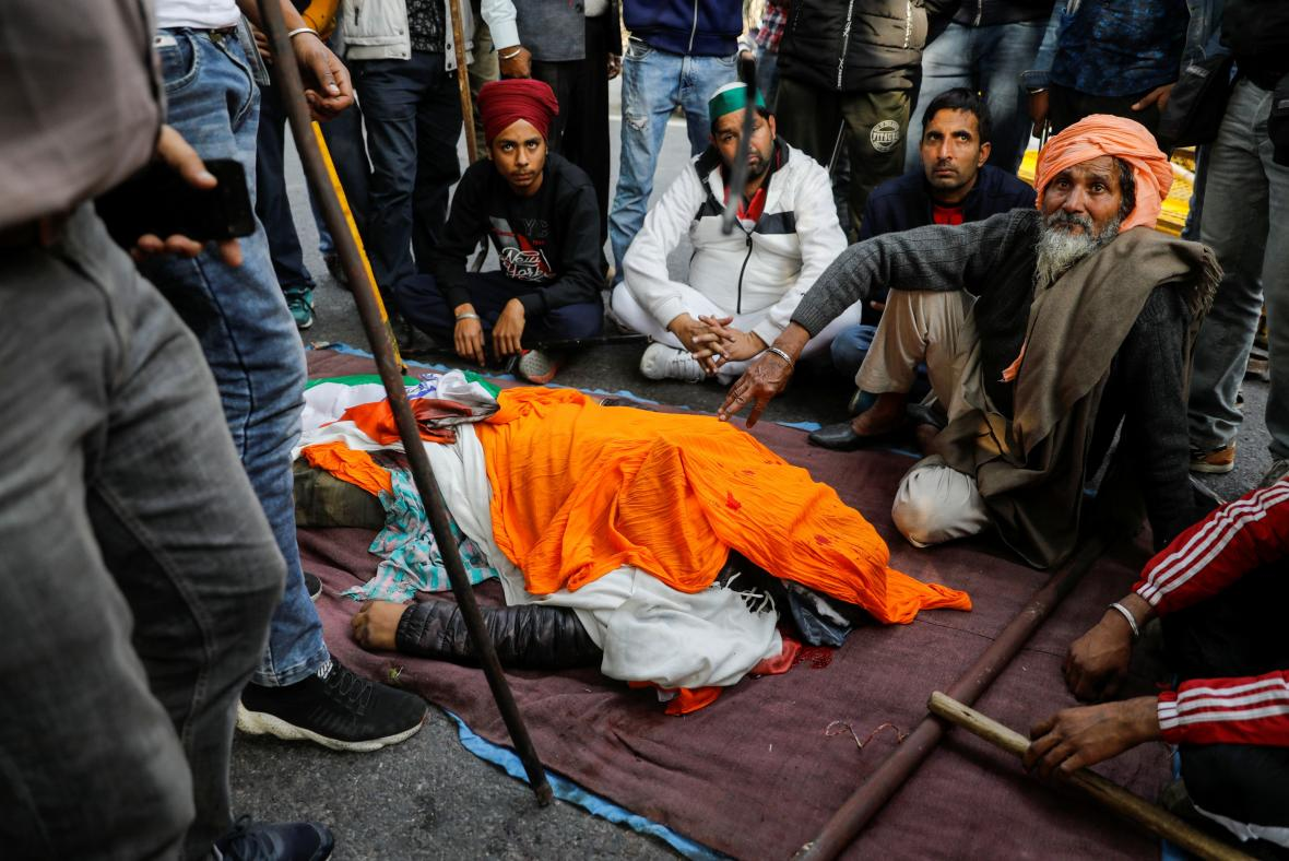 Protesty indických zemědělců