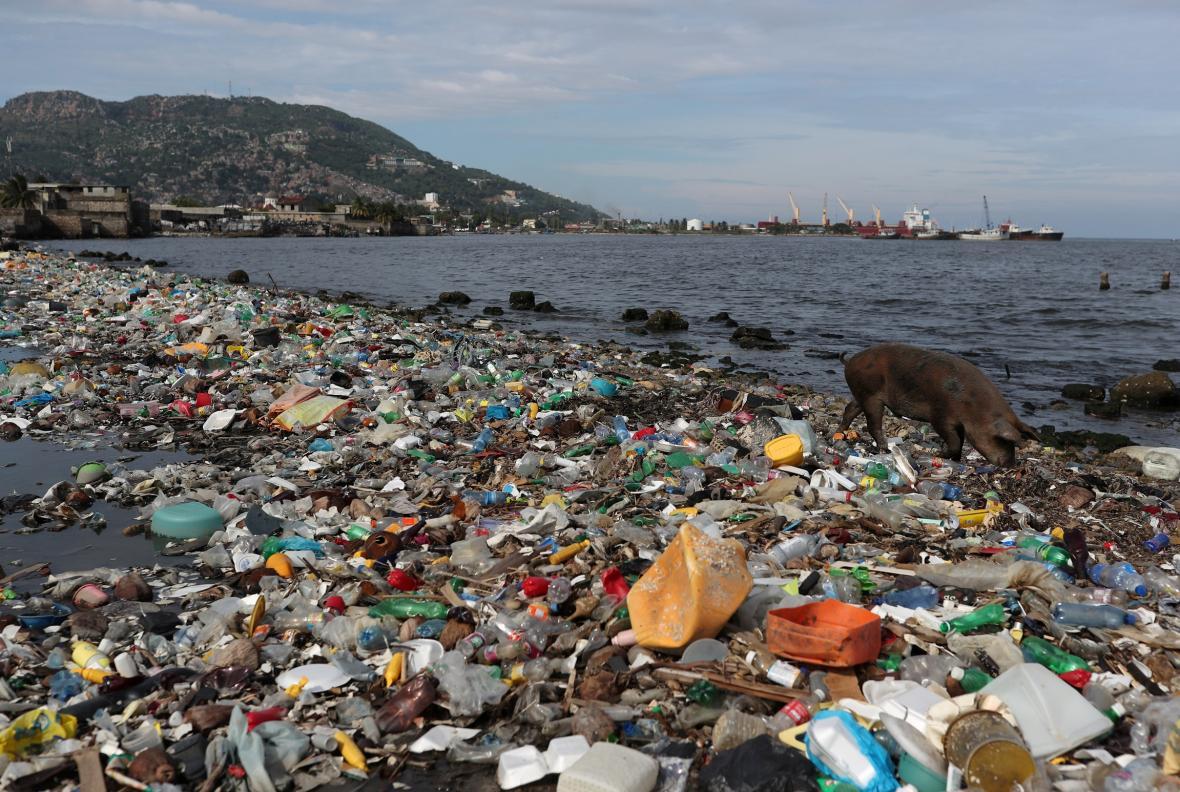 Znečištění oceánů