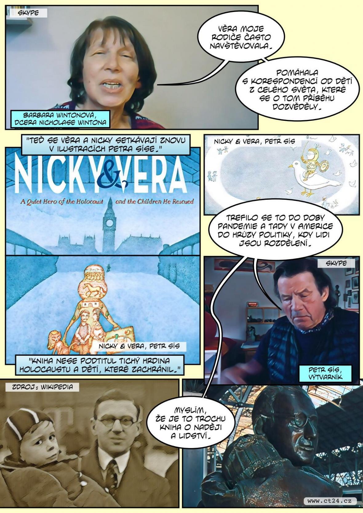 Příběh Nicholase Wintona v nové knize