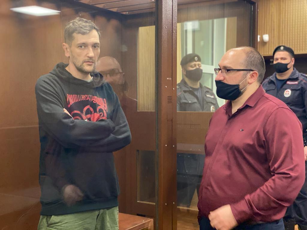 Oleg Navalnyj před soudem