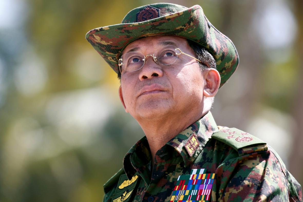 Armádní generál Min Aung Hlaing