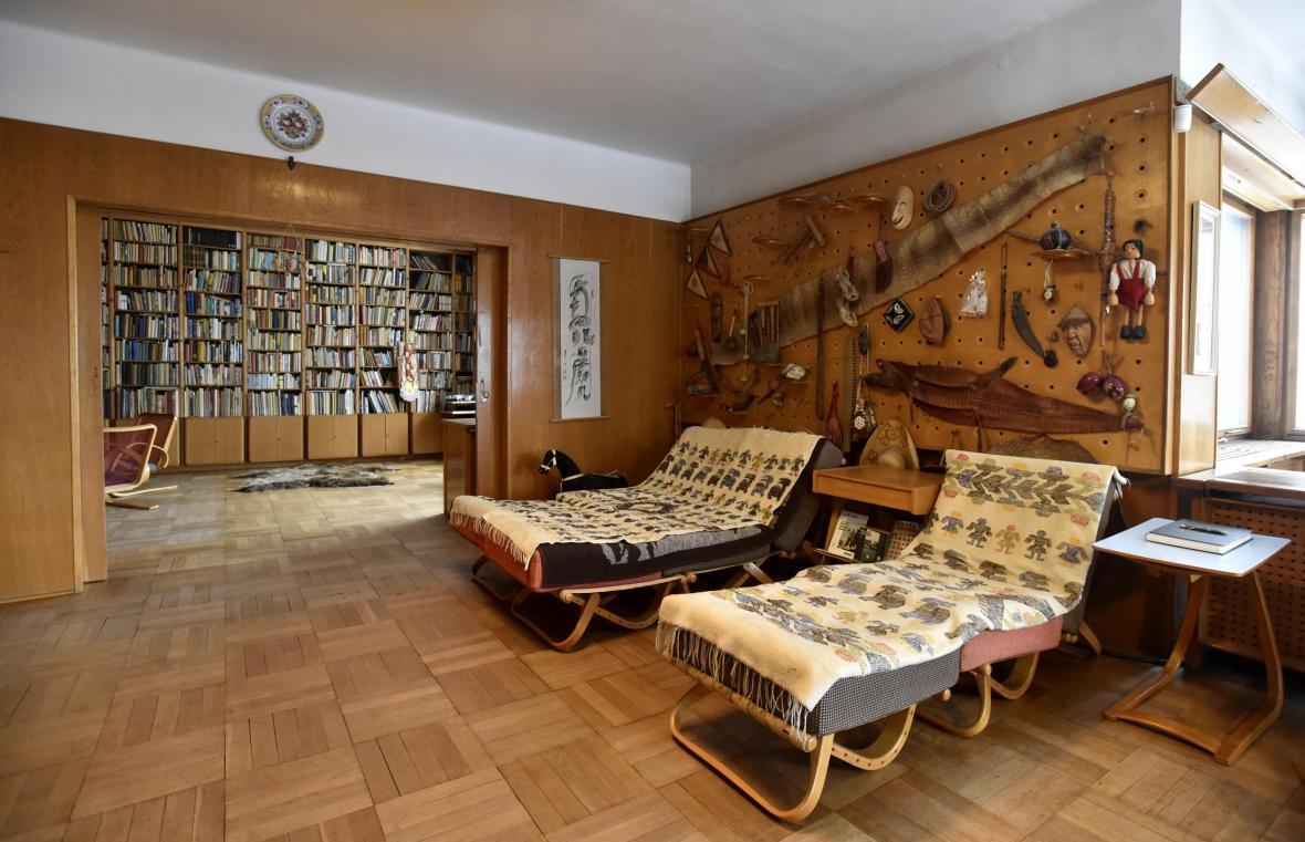 Zlínská vila cestovatele a spisovatele Miroslava Zikmunda. O budovu, která je kulturní památkou se bude starat Nadační fond Zikmundova vila