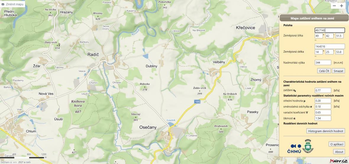 S jakým zatížením je třeba počítat: srovnání Středních Čech a Krkonoš