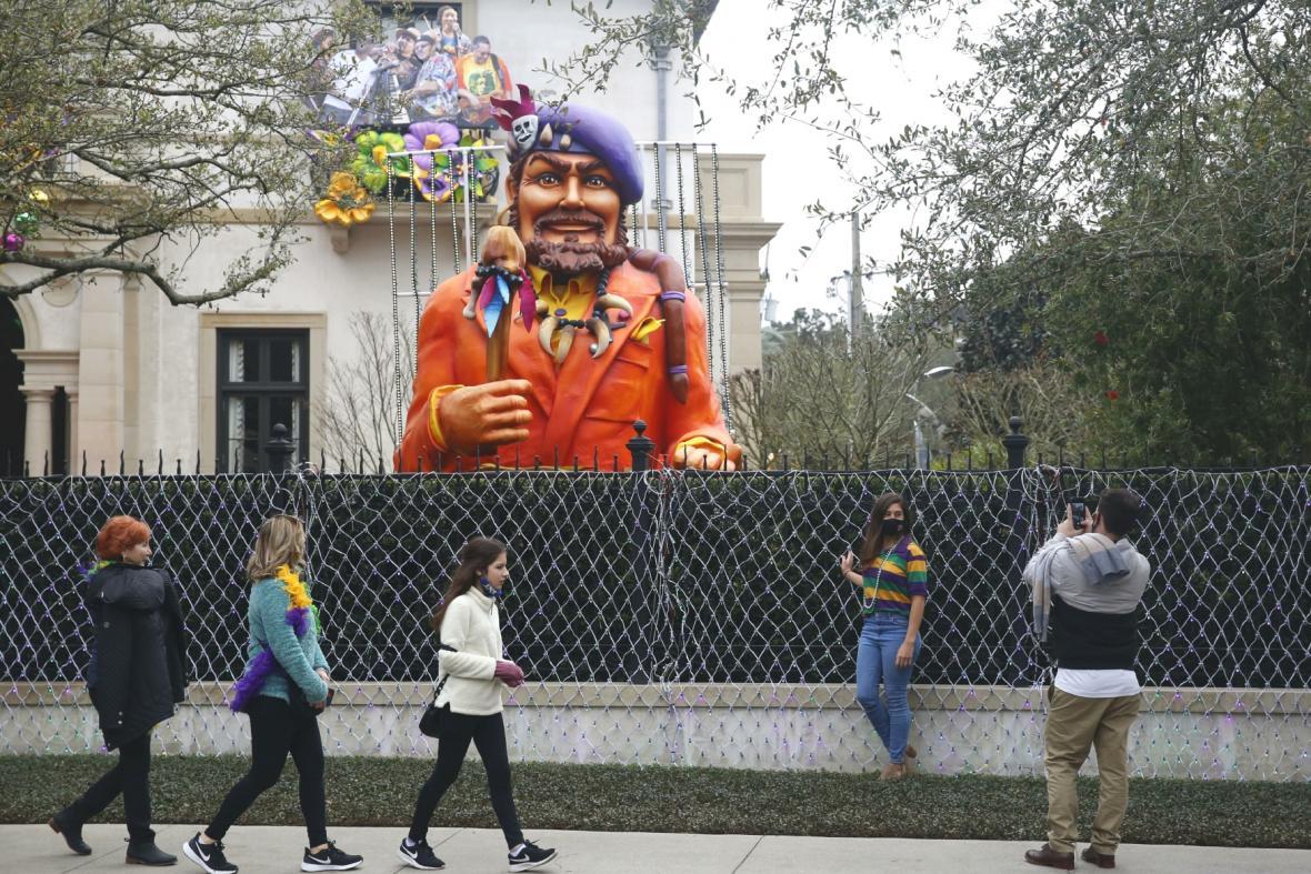 Covidový Mardi Gras v New Orleans