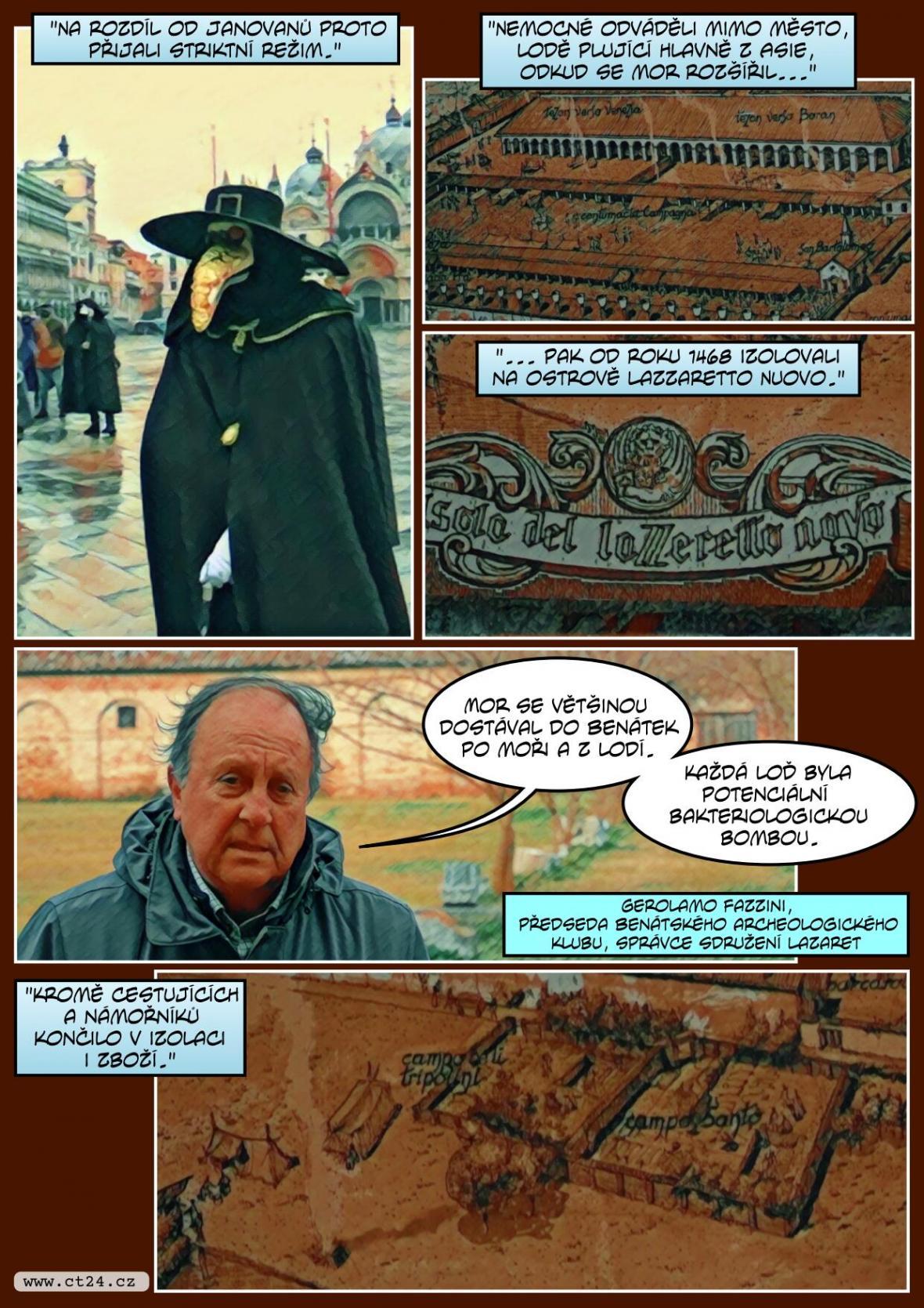 Město, kde vymysleli karanténu. Dnešní Benátky se těm 600 let starým v mnohém podobají