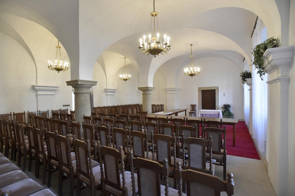 Barokní klášter v Uherském Hradišti