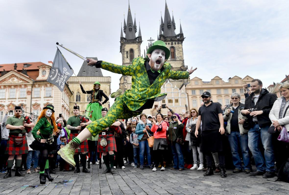 Zelené průvody se nevyhly ani české Praze