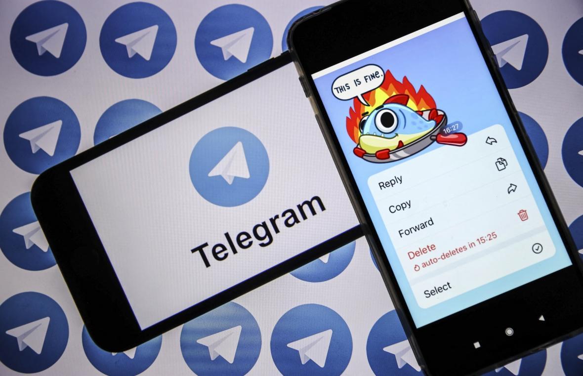 Sociální síť Telegram
