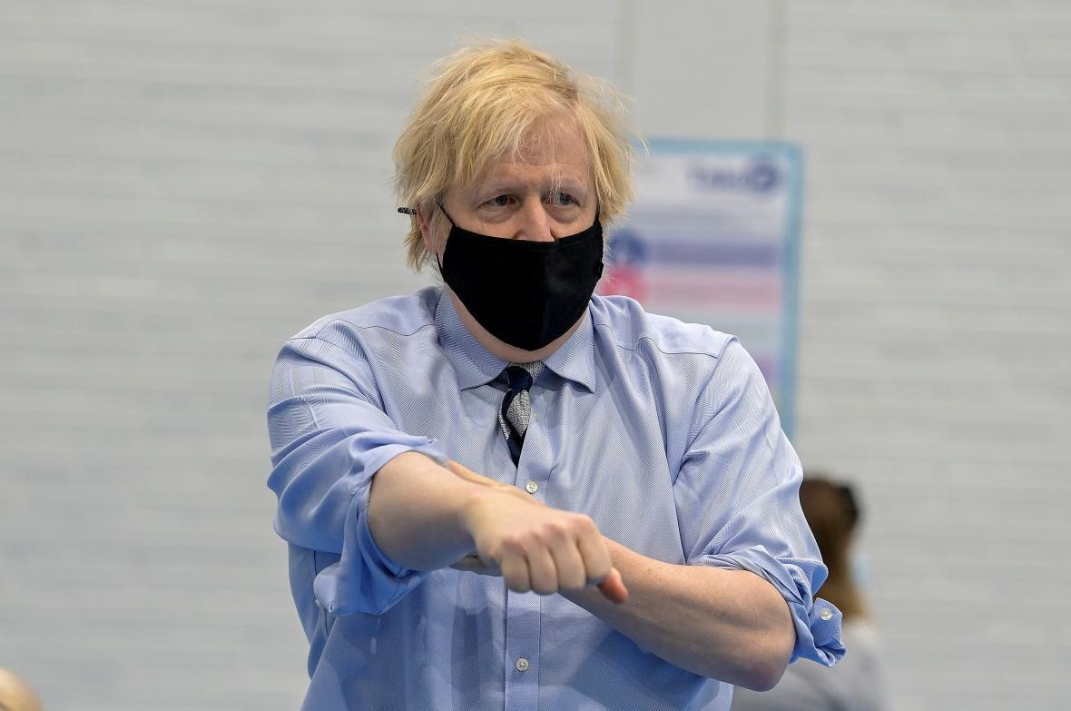 Boris Johnson v Severním Irsku
