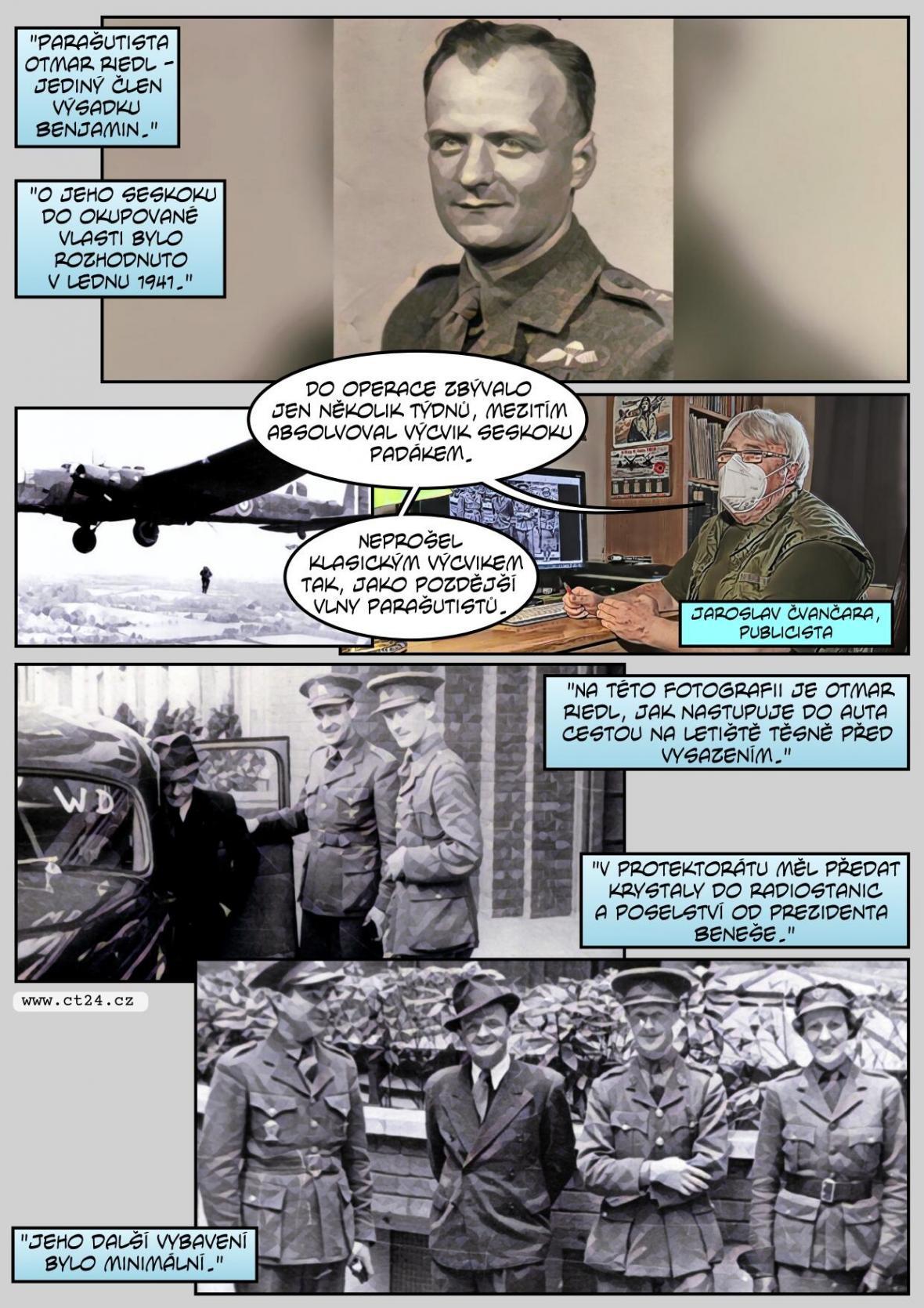 80 let od první vlny výsadků z Londýna