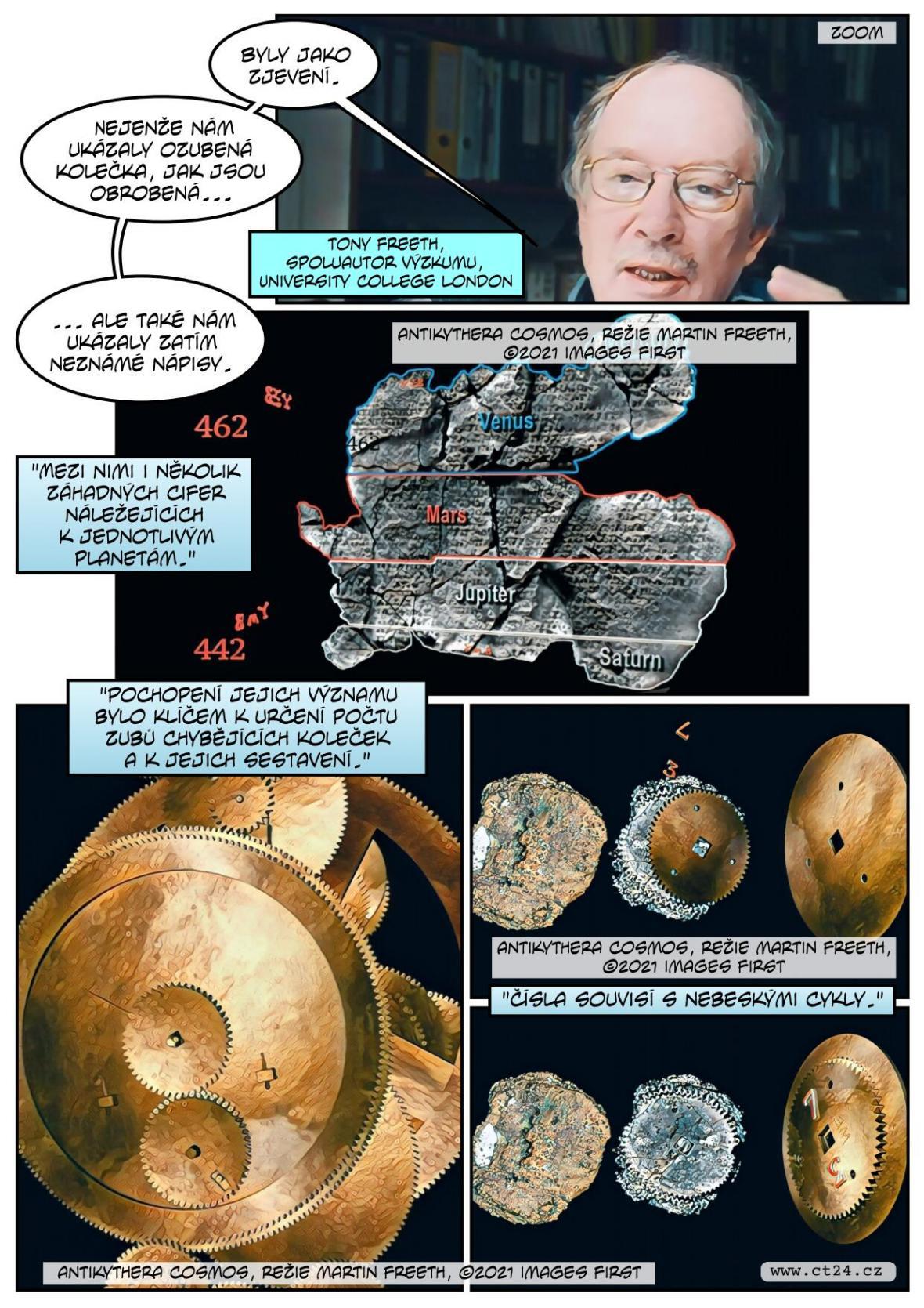 Vědcům se podařilo rozluštit, jak fungoval starověký mechanismus z Antikythéry