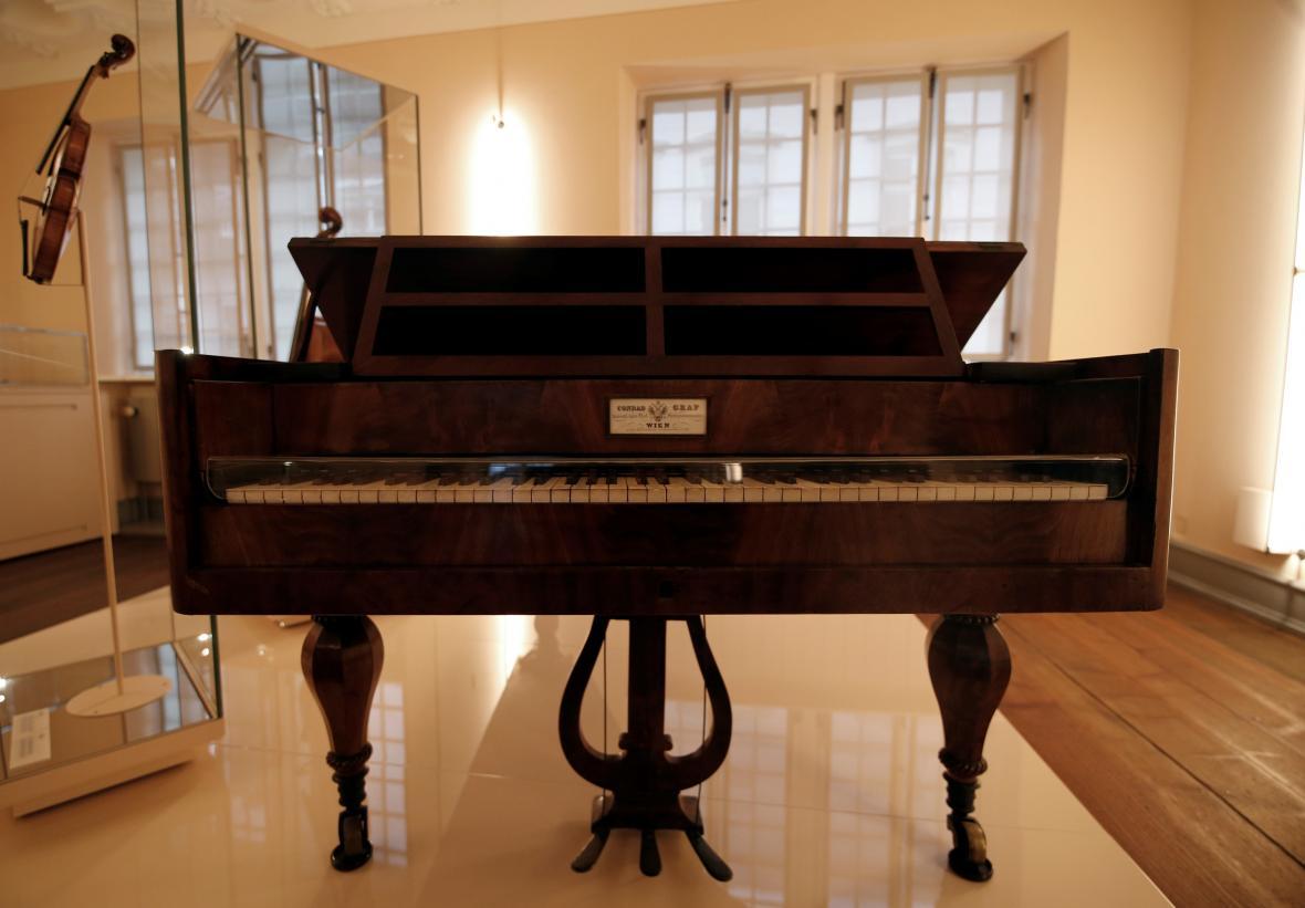 Originální piano Ludwiga van Beethovena