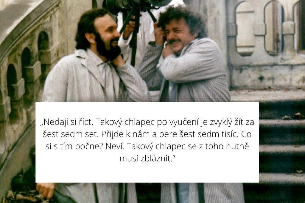 Znáte hlášky z tvorby Zdeňka Svěráka?