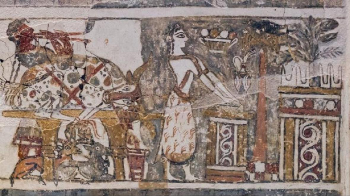 Sarkofág z Hagia Triada