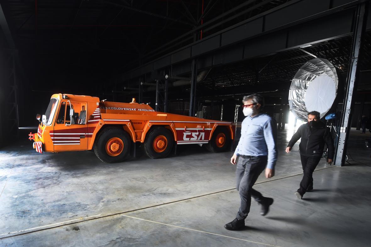Exponáty Muzea nákladních automobilů Tatra v Kopřivnici