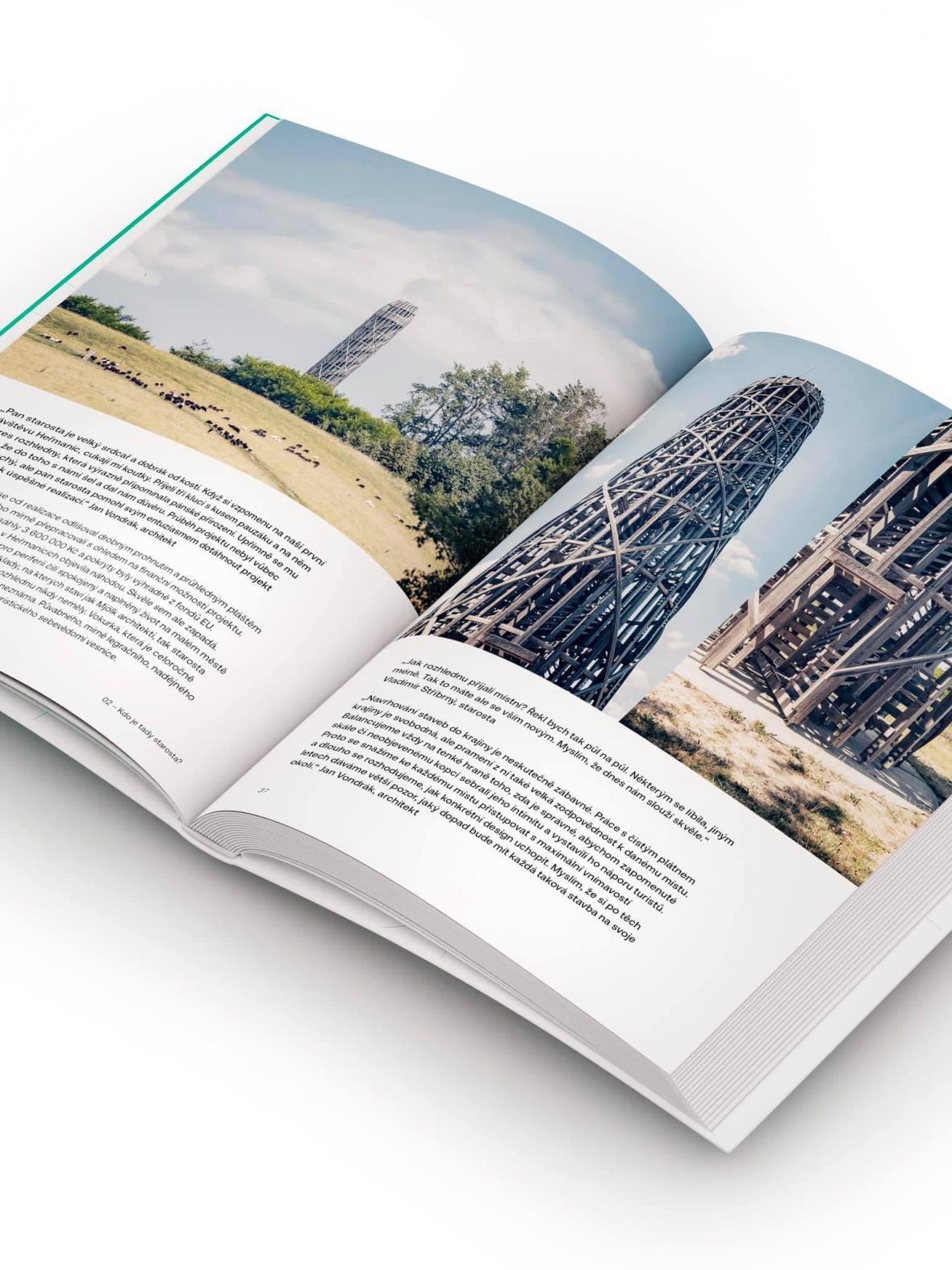 Proměny venkova a kvalitní architekturu obcí mapuje publikace Možnosti vesnice dvojice autorů  Michaely Hečkové a Matěje Chabery