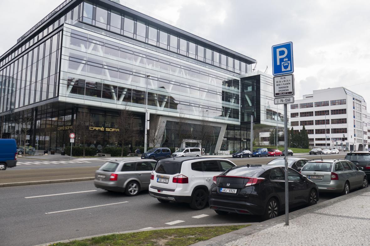 Výhled na dnešní ulici Evropskou - místo zatčení Josefa Balabána gestapem v pražských Dejvicích