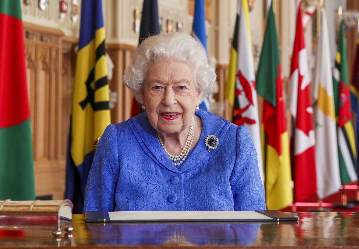 Alžběta II. u příležitosti letošního Dne Commonwealthu