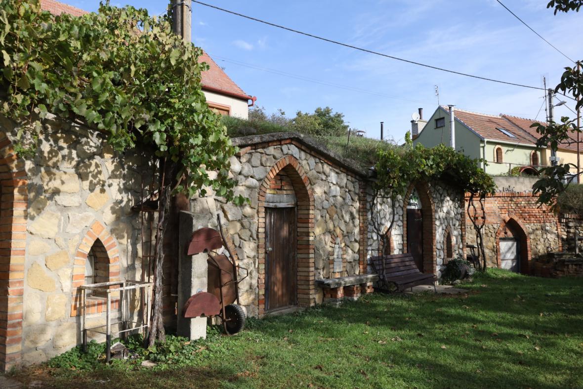 Vinné sklepy ve Vrbici