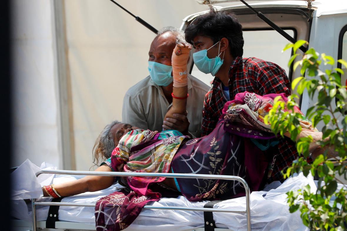 Koronavirus v Indii