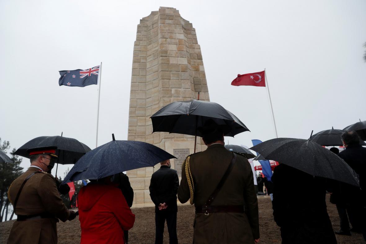 Pietní akt v tureckém městě připomněl vojáky, kteří padli během první světové války v bitvě o Gallipoli