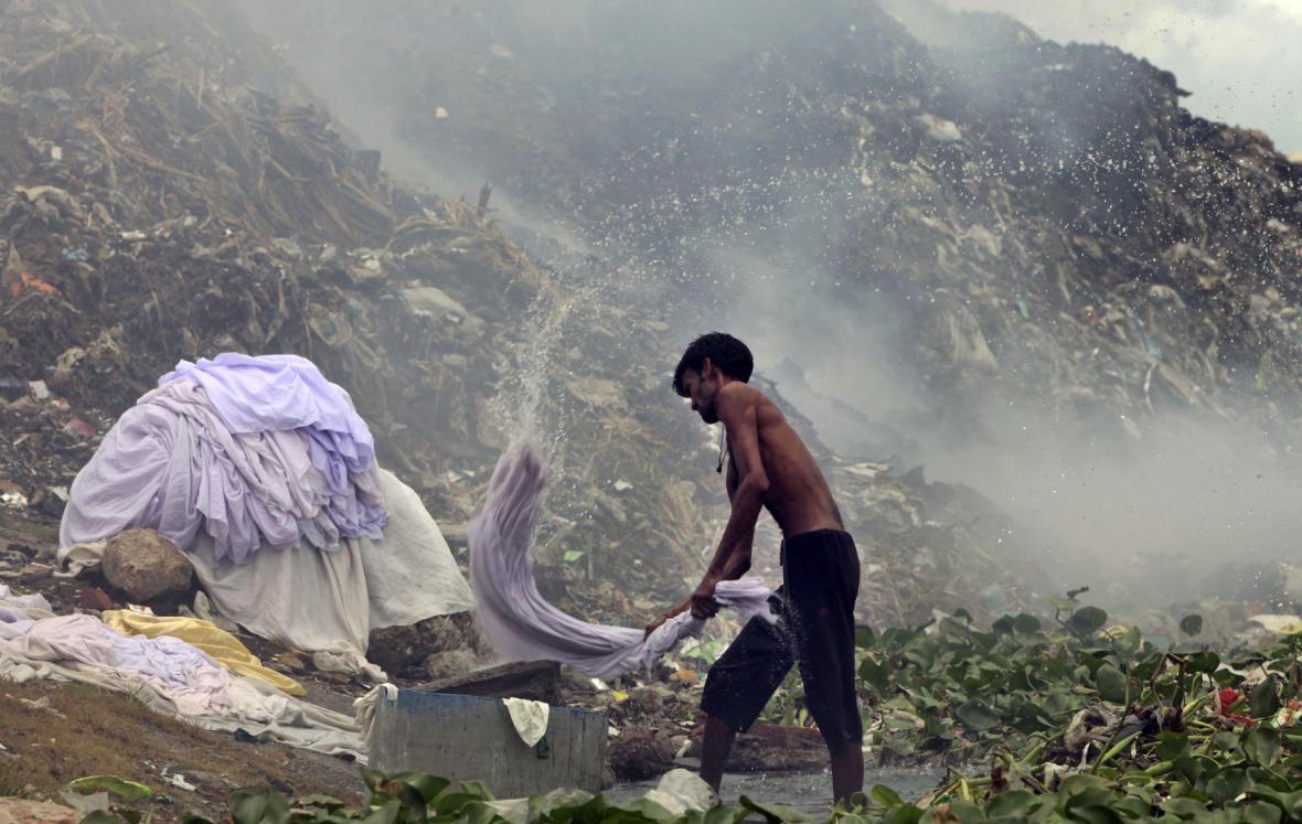 Skládky v Bangladéši