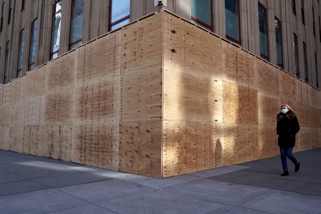 Během prezidentských voleb 2020 byla budova zabarikádovaná, aby se předešlo vandalismu v případě nepokojů