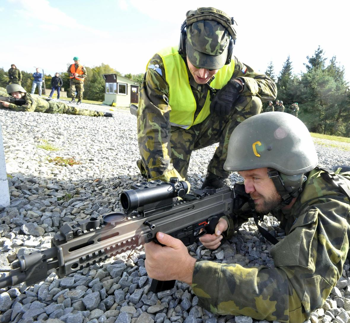 Nejmenší český vojenský újezd Březina, byl otevřený před 70 lety
