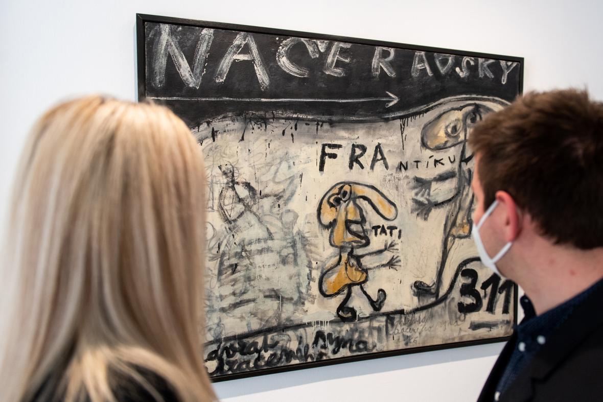 Díla ze sbírky Karla Tutsche V Galerii moderního umění v Hradci Králové