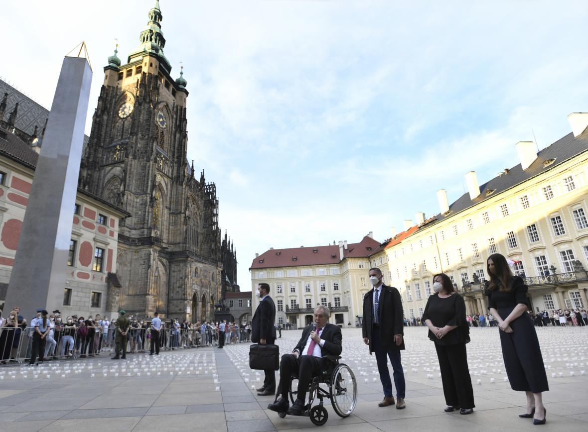 Pieta na Pražském hradě