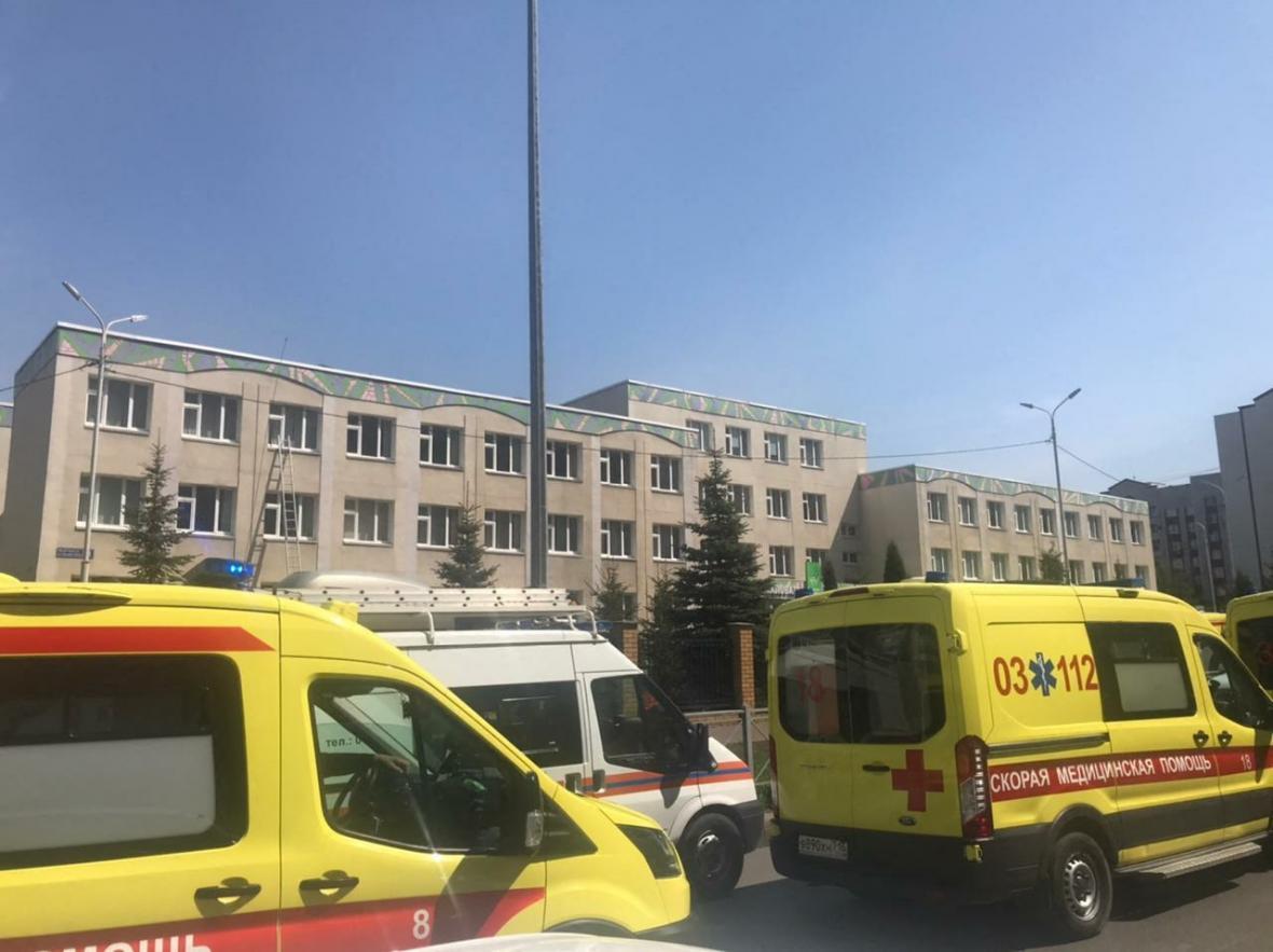 V Kazani došlo k útoku ve škole
