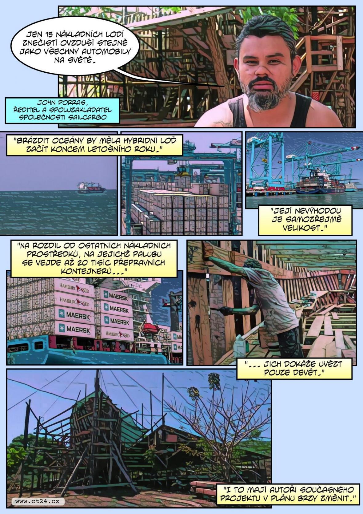 Loď bojuje za životní prostředí