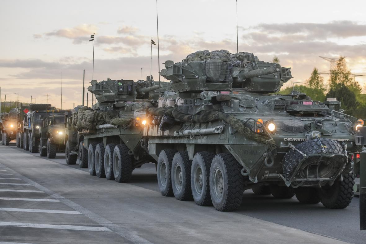 Do Česka dorazí konvoj americké armády, vrací se z cvičení v Maďarsku
