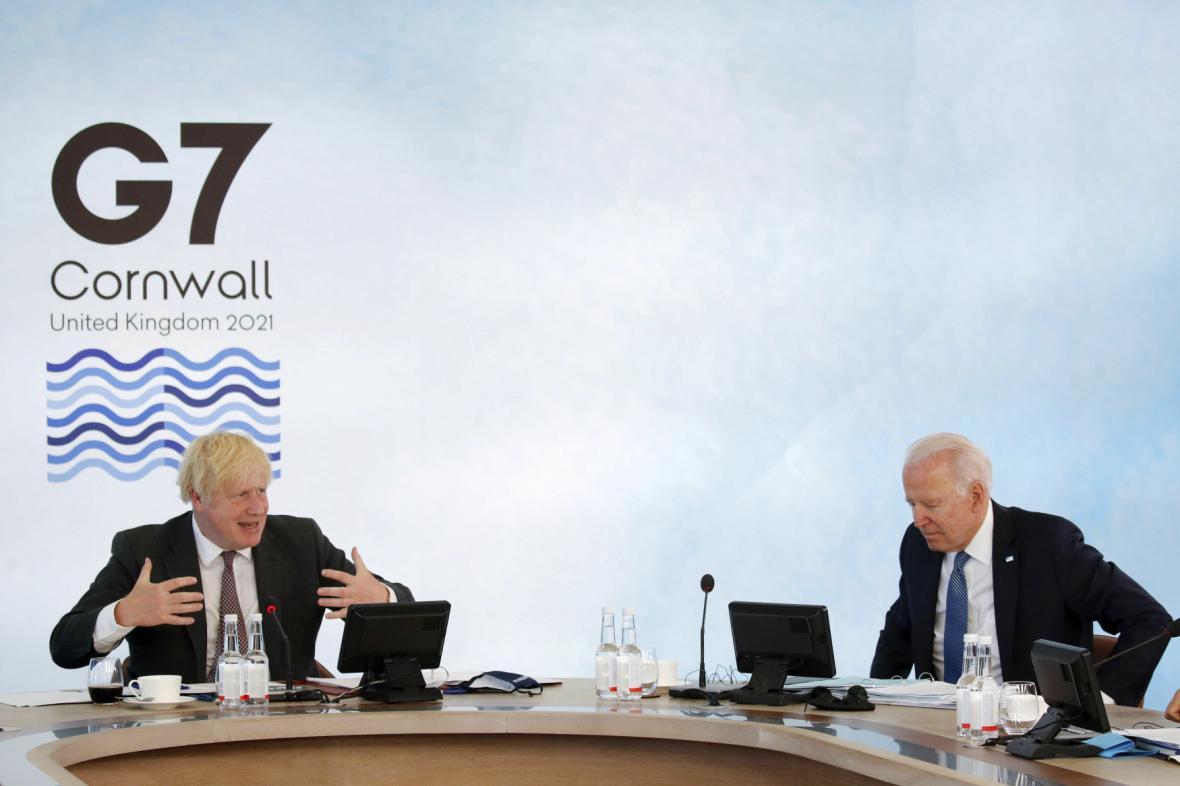 Sledujte: Brífink britského premiéra Johnsona na závěr summitu G7