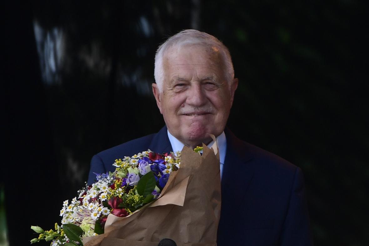 Václav Klaus slaví osmdesáté narozeniny
