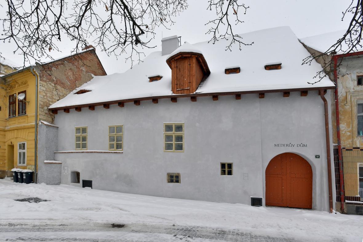 Mederův dům, jeden z nejstarších měšťanských domů v Žatci