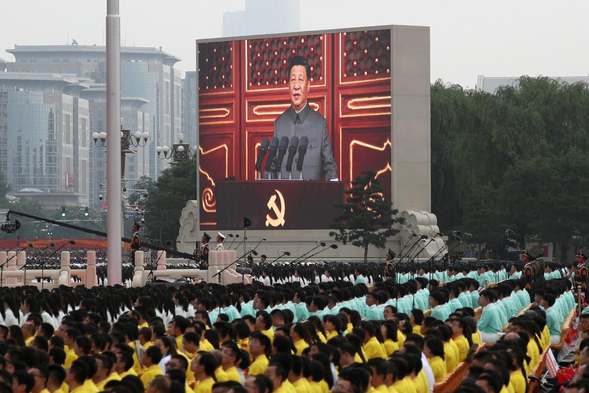 Oslavy stého výročí zaloení Komunistické strany Číny