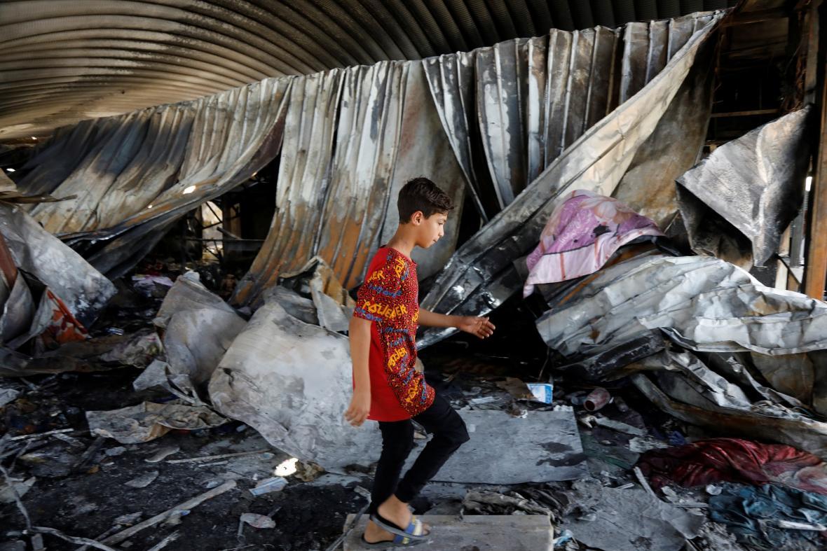 V nemocnici v jihoiráckém Násiríji vypukl požár. Vyžádal si oběti, v zařízení se léčili pacienti s covidem